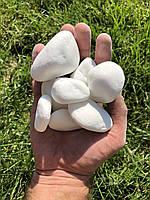 Галька для ландшафта, мраморная галька крошка Тасос