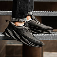 Кросівки зимові чоловічі чорні 46 розміри