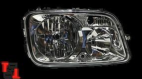 Фара головного світла ел/керування RH Mercedes Actros MP3