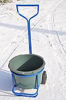 Тележка для уборки мусора под бак 60л, фото 1