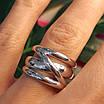 Серебряное кольцо без камней - Стильное серебряное кольцо, фото 2