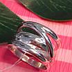 Серебряное кольцо без камней - Стильное серебряное кольцо, фото 3