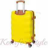 Дорожный чемодан на колесах Bonro Next маленький желтый (10642007), фото 2