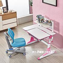 Растущая парта для школьников Fundesk Magico Pink, фото 3