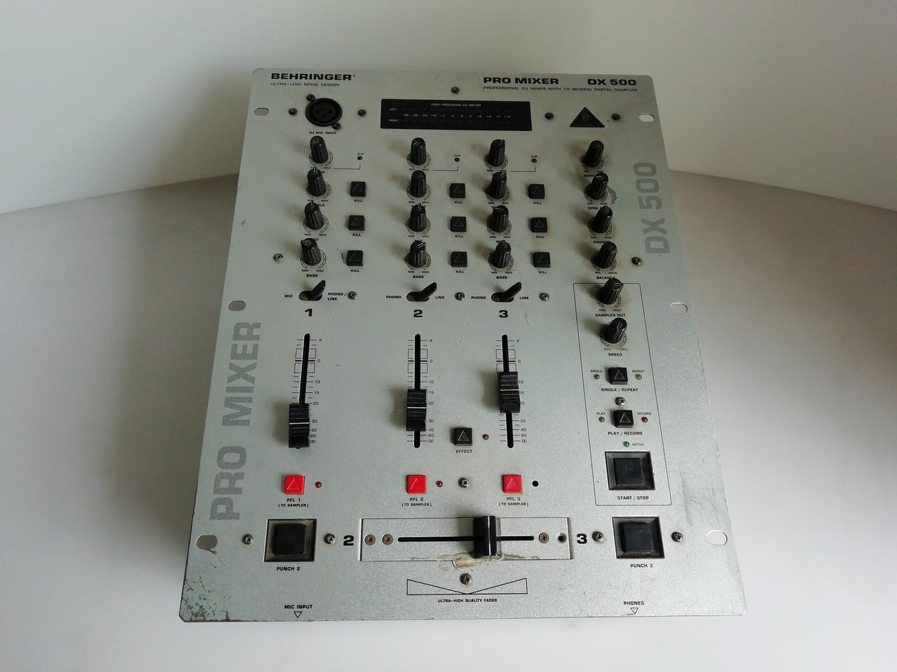 DJ Микшер BEHRINGER PRO MIXER DX500