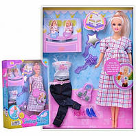 Кукла Defa Lucy  беременная со съемным животом / Defa Lucy 8009