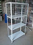 Стелаж 2000х950х400 складський металевий легкий, фото 2