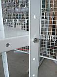 Стелаж 2000х950х400 складський металевий легкий, фото 4