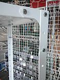 Стелаж 2000х950х400 складський металевий легкий, фото 5