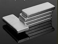Прямоугольный неодимовый магнит45х15х6 мм, сила сцепления 19 кг, N42