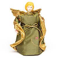 Новогодний сувенир - Феи, 11 см, зеленые (180370-1)