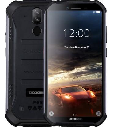 """Смартфон Doogee S40 3/32Gb Black, IP68, 8+5/5Мп, 4 ядра, 2sim, екран 5.5"""" IPS, 4650mAh, 4G, NFC"""