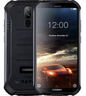 "Смартфон Doogee S40 3/32Gb Black, IP68, 8+5/5Мп, 4 ядра, 2sim, екран 5.5"" IPS, 4650mAh, 4G, NFC, фото 1"