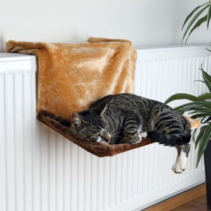 Гамак для кошки Trixie de Luxe (плюш, 45х24х31 см)