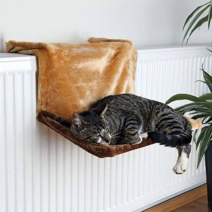 Гамак для кошки Trixie de Luxe (плюш, 45х24х31 см), фото 2