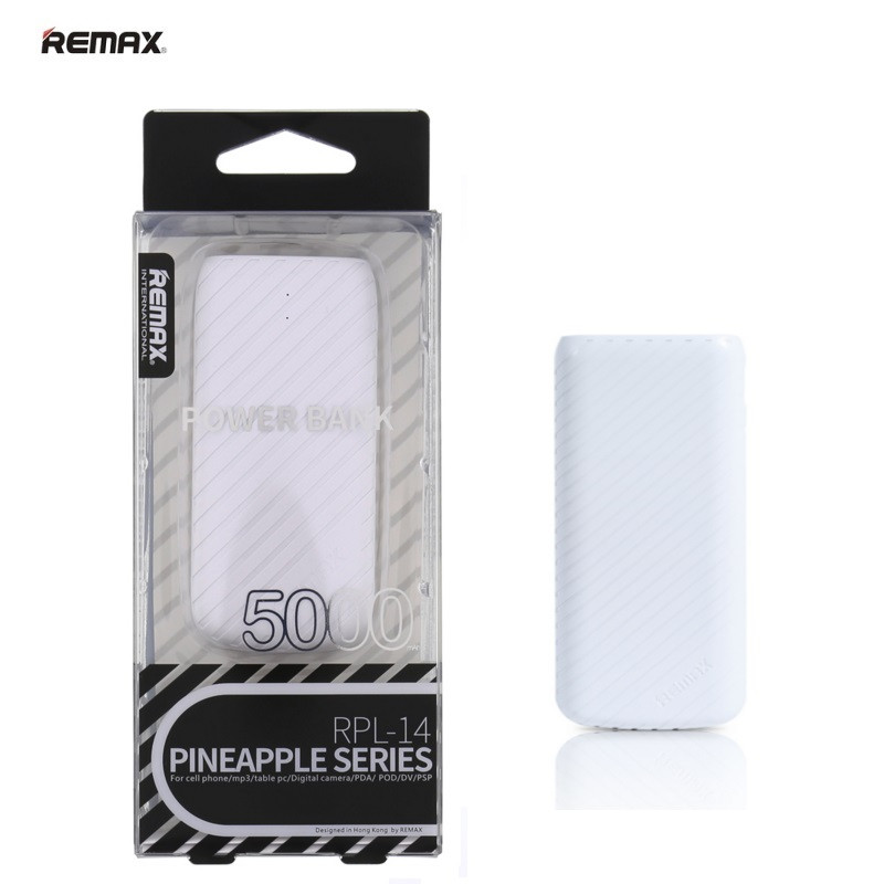 Power Bank Remax Pineapple RPL-14 5000mAh Original White