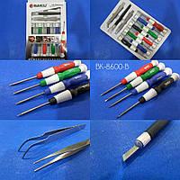 Набор инструментов, отверток для ремонта телефонов и техники BAKU BK-8600-B
