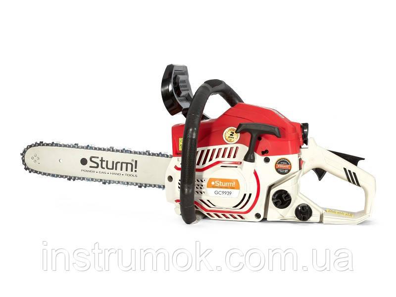 Бензопила 355 мм, 2.0 кВт Sturm  GC 9939