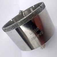Алмазная коронка по керамограниту 22 мм с направляющим сверлом