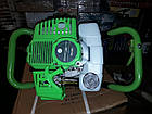 Мотобур Craft-tec PRO EA-200 (в комплекте 1 шнек 100мм и 1 шнек 200мм). Бензобур Крафт-Тек, фото 9