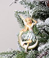Набор из 2 подвесок на елку Ангелочки 192-021