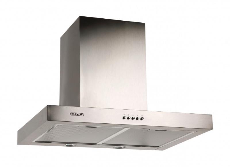 Кухонная вытяжка Eleyus Кварта LED H 800 / 90 (нержавейка)