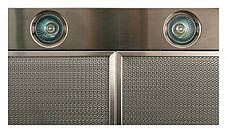 Кухонная вытяжка Eleyus Кварта LED H 800 / 90 (нержавейка), фото 3