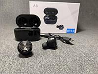 Беспроводные наушники A6 затычки + комплект вакуумных затычек ОПТ