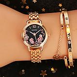 Часы с цветочным принтом, фото 4
