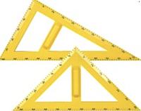 Набір трикутників з тримачами.