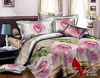 Комплект постельного белья полуторный из ранфорса R2040 Розы