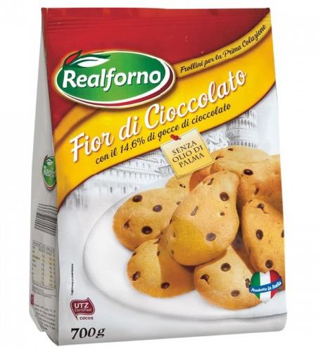 Печиво Realforno Fior di Cioccolato 700 g