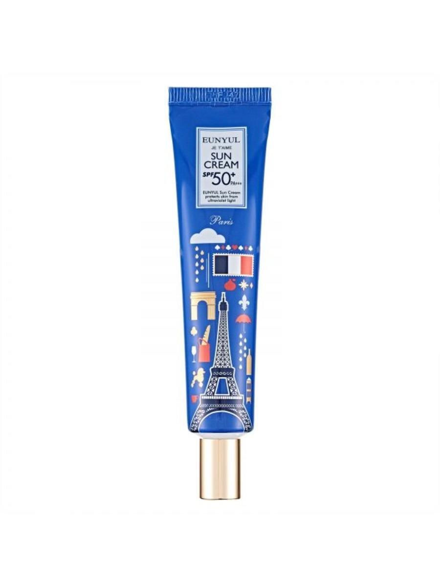 Солнцезащитный крем с фактором SPF50+ Eunyul Je T'AiME Sun Cream PA+++ 40 мл (1517)