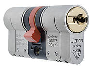 Цилиндр замка ULTION 30-30T, 3 ключа, ключ-тумблер