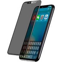 Защитное стекло Baseus для iPhone 11 Pro Tempered Glass Privacy, Black (SGAPIPHX-TG01)