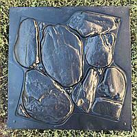 "Пластиковая форма для 3d панелей ""Горная Тиса"" 50*50 (форма для 3д панелей из абс пластика)"