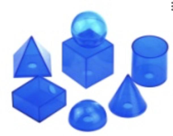 Набір геометричних фігур ( 7 фігур)