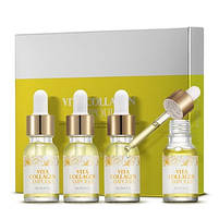 Набор антивозрастных ампульных сывороток с витаминами и коллагеном Eunyul Vita Collagen Ampoule Set 4×12 мл, фото 3