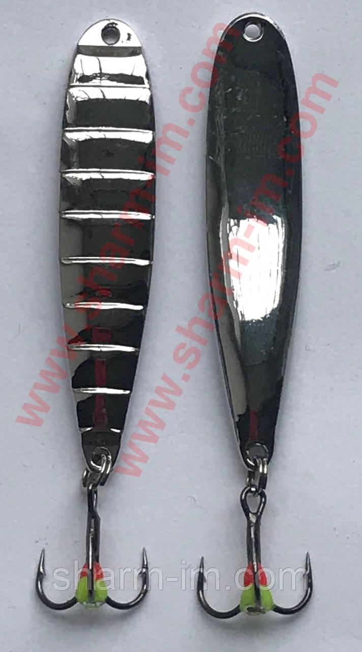 Зимняя отвесная блесна 8051 Серебро (10 гр./60 мм)