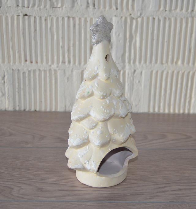 """Подсвечник """"Новогодняя елка"""", керамика (24*13*10 см.)"""