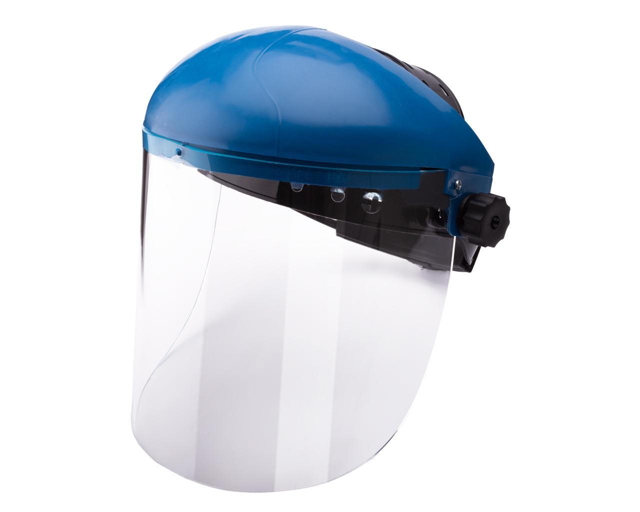 Щиток защитный НБТ Vision высота линзы 18.5 см толщина 3.0 мм с наголовником от маски Хамелеон