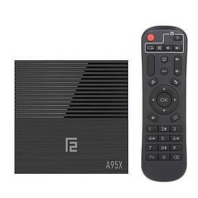 ТВ бокс V BOX A95X F2  (s905x2 4+32 Android 9.0) voice control, фото 2