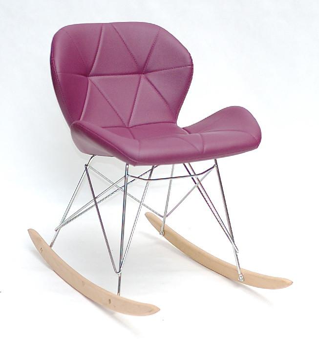 Кресло-качалка Invar (Инвар) Rack,  пурпур 61