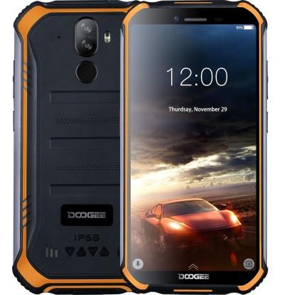 """Смартфон Doogee S40 3/32Gb Orange, IP68, 8+5/5Мп, 4 ядра, 2sim, екран 5.5"""" IPS, 4650mAh, 4G, NFC"""