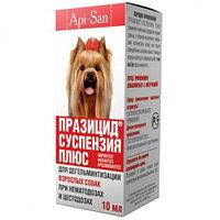 Празицид суспензия для собак 10 мл
