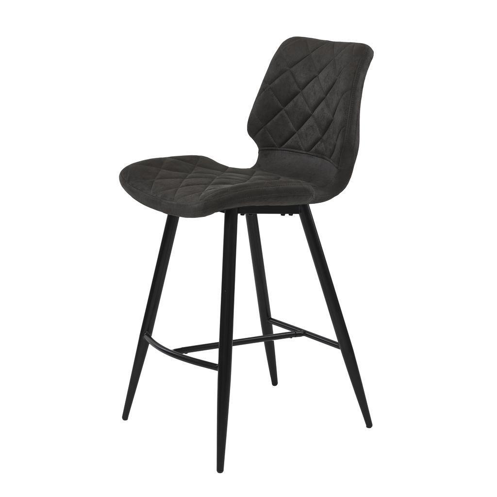Полубарный стул DIAMOND (Даймонд) графит оил нубук от Concepto