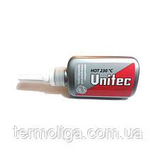 """Клей-герметик Unitec Hot Unipak 75 мл в """"гармошке"""""""
