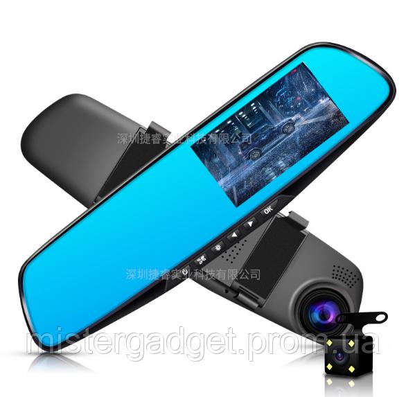 Зеркало регистратор с камерой заднего вида DVR L9000