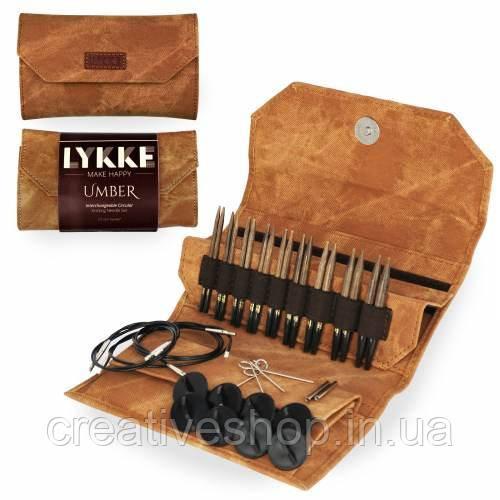 Набор спиц Lykke Umber (9 пар/7 см)