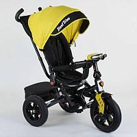 Велосипед Best Trike трехколесный с поворотным сидением Желтый R179346